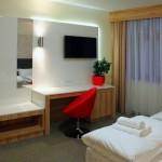 Nasze pokoje są bardzo eleganckie i gustowne.